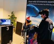 alpine skieen VR huren - Action Events - Virtual Reality - VR - winterattractie - kerstattractie