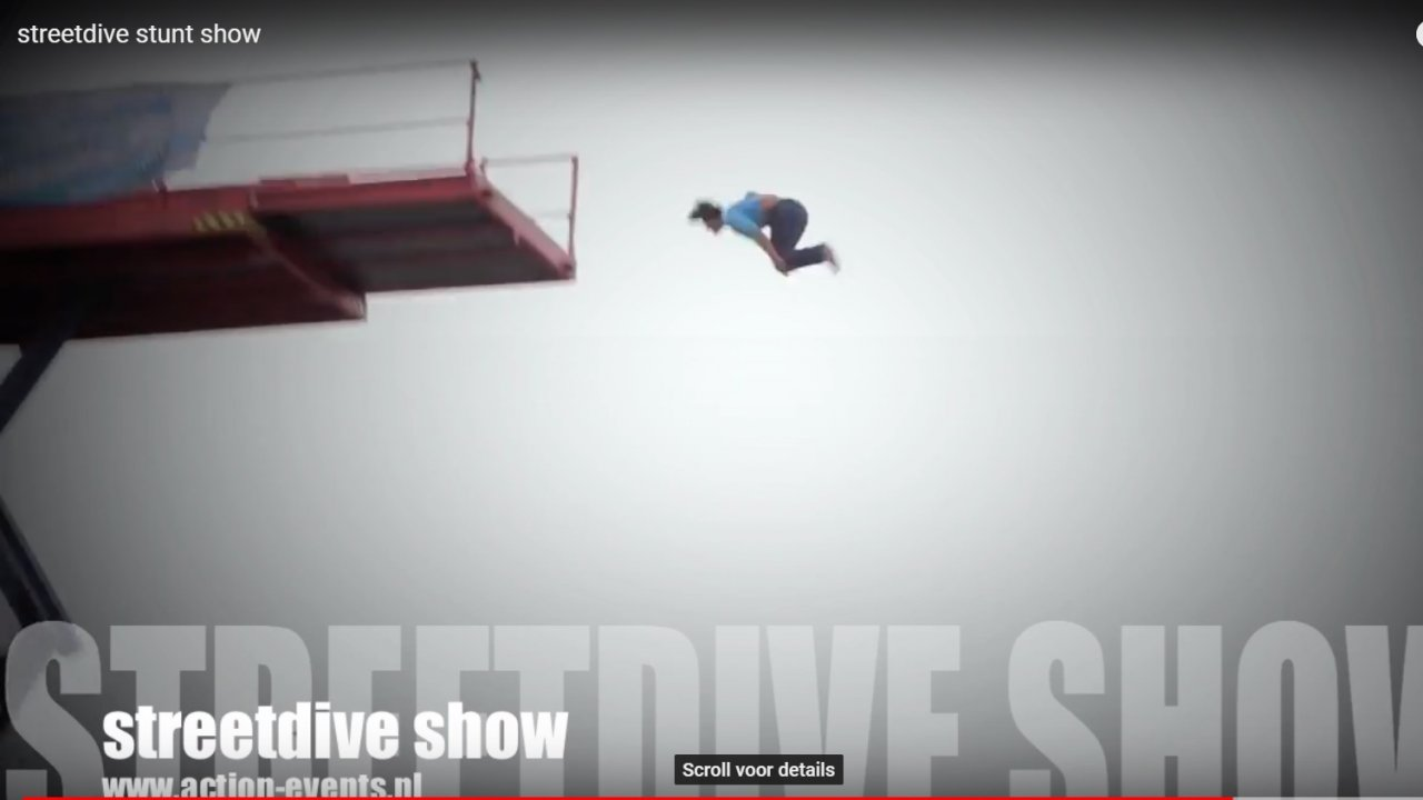 video street dive stuntshow - stuntshow - Action Events