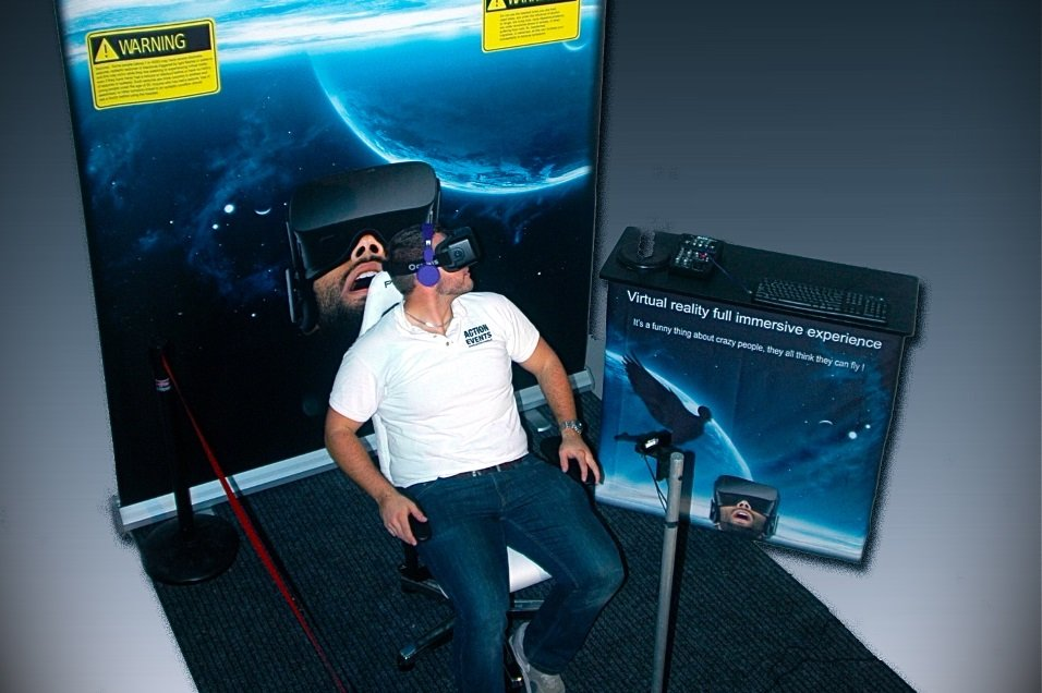 Virtual Reality diverse Rollercoasters huren - Action Events - groot