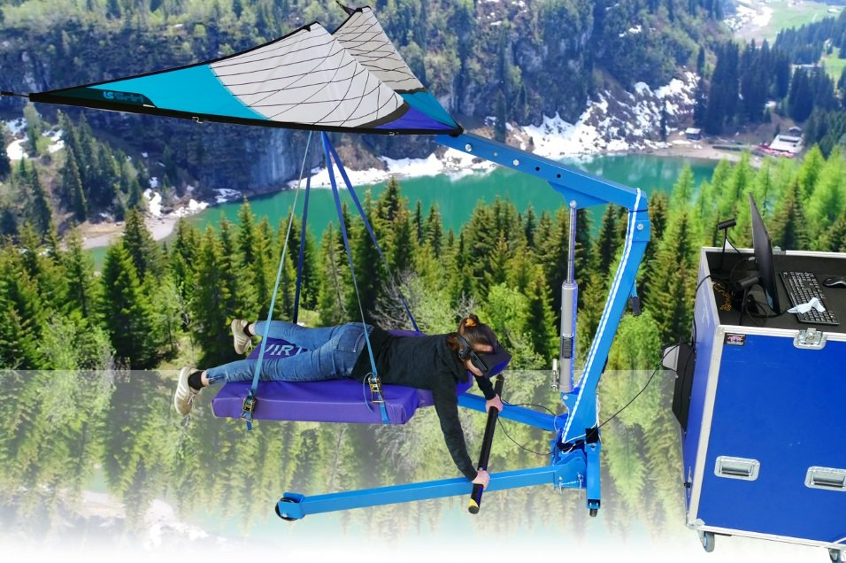 Virtual Reality Hang glider huren - Action Events