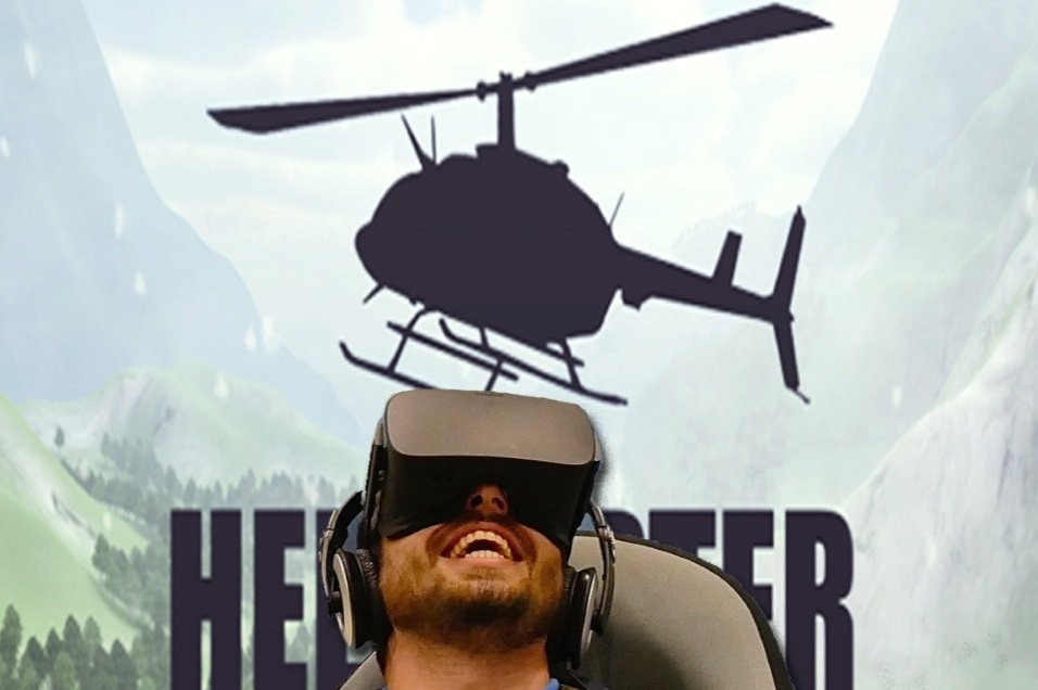 Virtual Reality helikoptervlucht huren - Action Events