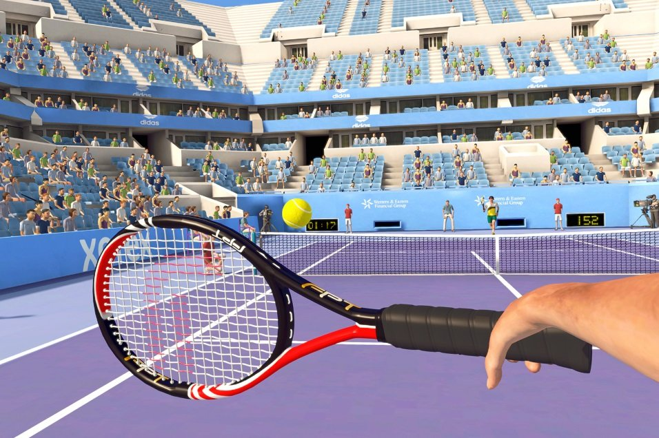 Virtual Reality Tennis huren - Action Events - groot