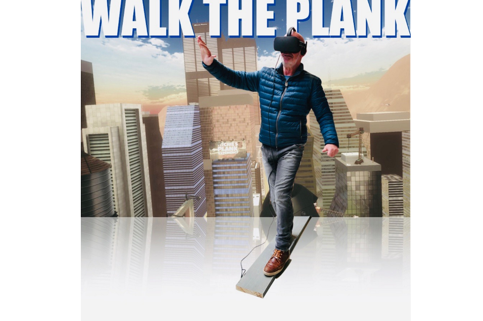 Virtual Reality walk the plank huren - Action Events